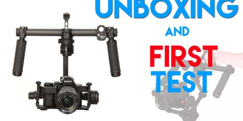 Unboxing Came-TV MINI 2 – 3 AXIS Gimbal Camera Rig and First Test