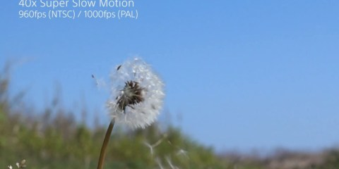 Sony RX100 IV & RX10 II – Super Slow Motion- Nature