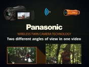 HX-A1 Action Cam in Use With a Wireless Twin Camera | Two Cameras, Two Shots, One Video