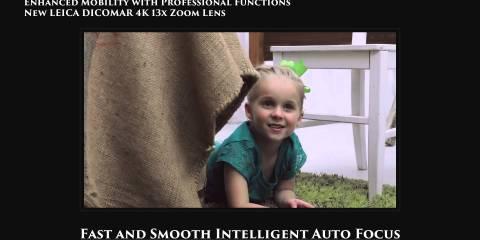Panasonic AG-DVX200 4K Camera Introduction Video Vol.3 Lens Features