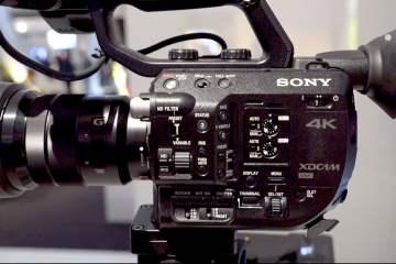 IBC 2015: Sony PXW-FS5 from AbelCine
