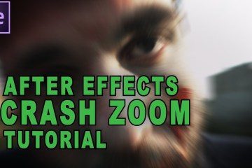 How to do a Crash Zoom Effect in After Effects: Tutorial from Ruan Lotter