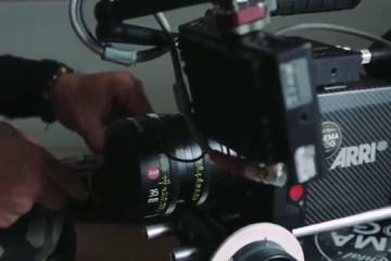 Leica Summicron-C lenses in use on the ARRI Alexa Mini Camera