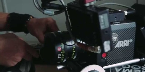 Leica Summicron-C lenses in use on the ARRI Alexa Mini Camera