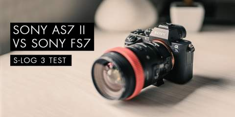 Sony A7SII vs Sony FS7 Camera Slog3 S-Gamut3.Cine Test from Creative Grit