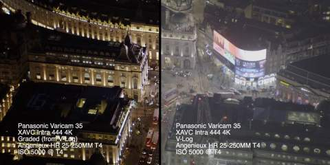 VARICAM 35 5000 ISO AERIAL TEST from Brownian Motion