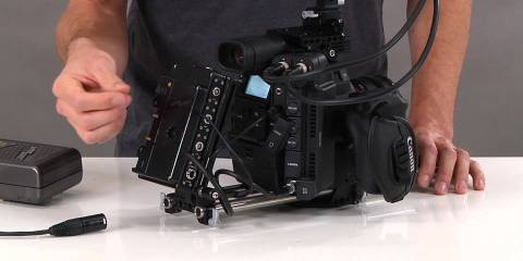 Wooden Camera Canon C300 MKII Camera Accessory Kits