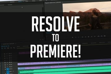 An Easy Way to Get DaVinci Resolve Graded Footage Back to Adobe Premiere