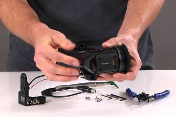 Blackmagic EVF Modification Kit from Wooden Camera