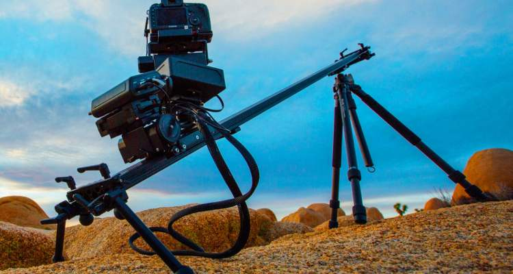 Kessler TLS time-lapse centric camera slider and motion control system