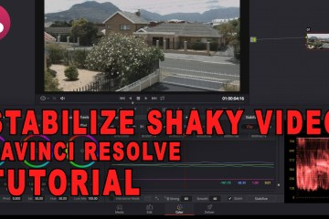 How To Stabilize Shaky Video Using DaVinci Resolve