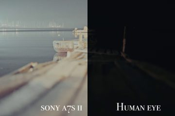 Sony A7s Mark II Camera Vs Human Eye at Night