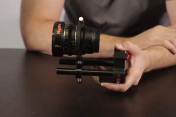 The Veydra Mini Prime Universal Lens Support