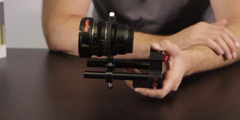 The Veydra Mini Prime Universal Lens Support