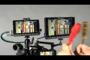 Using the Video Devices Pix-E5 & Pix-E7 Monitors as a Drum Set