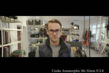 An Unscientific Lomo & Cooke Anamorphic Lens Geometry Distortion Test from Prorent.lt