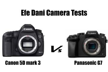 Canon 5D MKIII Vs Panasonic G7 Camera Low Light Test