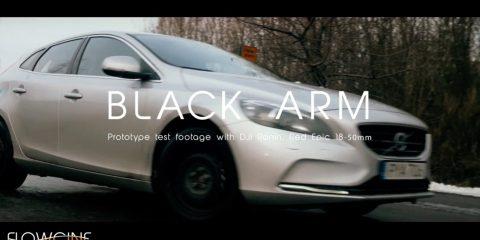 Flowcine Black Arm Demonstration Car to Car