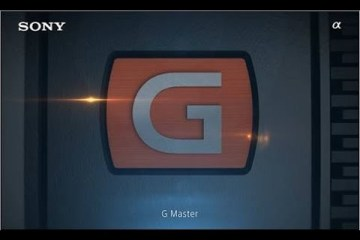 G Master α lens Sony Brand Concept