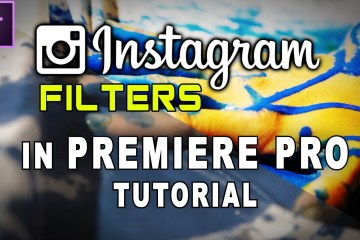 How To Use Instagram Filters In Adobe Premiere Pro