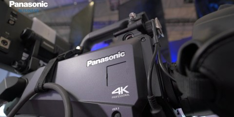 Panasonic Broadcast Solutions at ISE Using 4K Cameras in Live Events