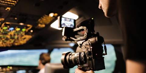 Review of the Canon EOS C300 MARK II Camera on a Plane