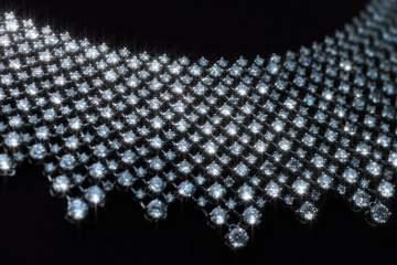 AJA CION Camera Shoot Diamonds