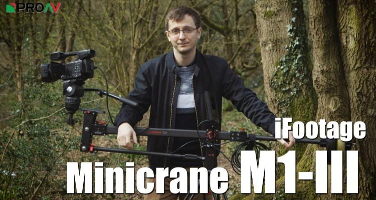 iFootage Minicrane M1-III Overview