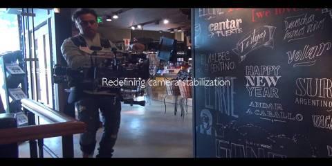 New 8-axis Hybrid Camera Stabilizer