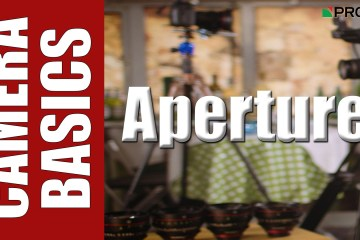 ProAV have come out with a production lesson on Aperture