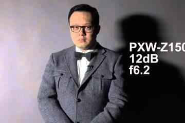 Sony PXW-Z100, Z150, X70 High Contrast Comparison Footage A&S Broadcast