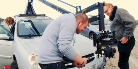 First look at the MOVIEMENT Wireless Camera Crane