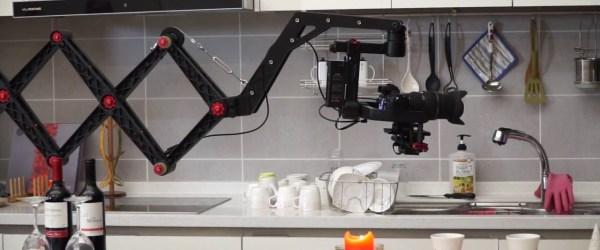 X-Jib Pro Scissors Crane System In Action
