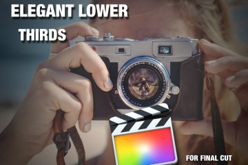 VFXnut Presents 25 Elegant Lower Thirds for Final Cut Pro X