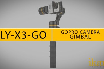 A quick look by ikan of the Fly-X3-GO 3-axis Gimbal Stabilizer