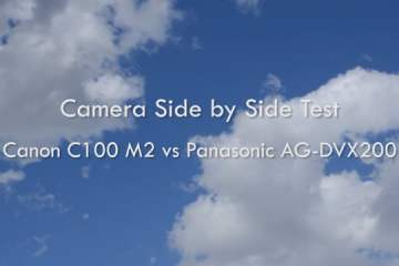 Canon C100 MK II Vs Panasonic AG-DVX200 Camera