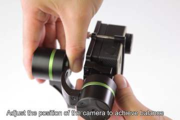 Quick Look At the Lanparte LA3D GoPro Gimbal Compatible With Hero and LCD Screen