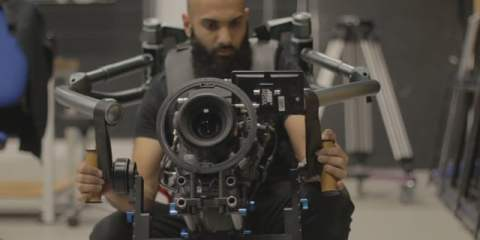 The Double Helix Gimbal + ARRI 235 Film Camera Test with Mr Helix & Tom Barber