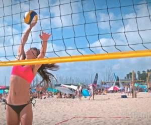 X5R DJI OSMO Gimbal Test: Volleyball from Rami Katzav