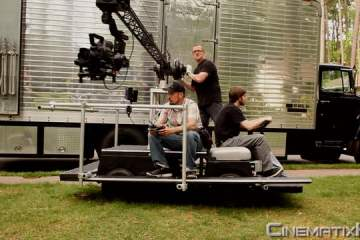 CinematixHD EC3 Electric Camera Crane Car