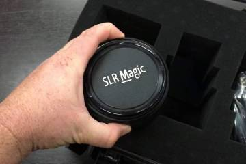 Unboxing the SLRmagic 85mm T2.1 APO PL Cine Prime Lens