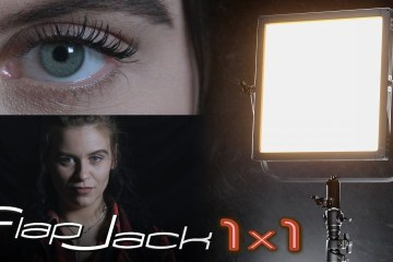 Fotodiox 1×1 FlapJack LED Edgelight – Studio & Portable – Dual-colour LED Panel