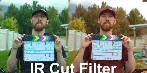 IR Cut Filter Review for the URSA Mini Camera