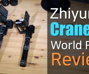 Zhiyun CRANE M 3-axis Camera Gimbal Review