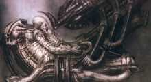 "Artwork de H.R. Giger sur ""Alien"""
