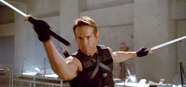 Ryan Reynolds dans X-Men Origins : Wolverine