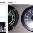 Facebook del piloto del tren a alta velocidad