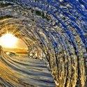 Foto de olas del mar