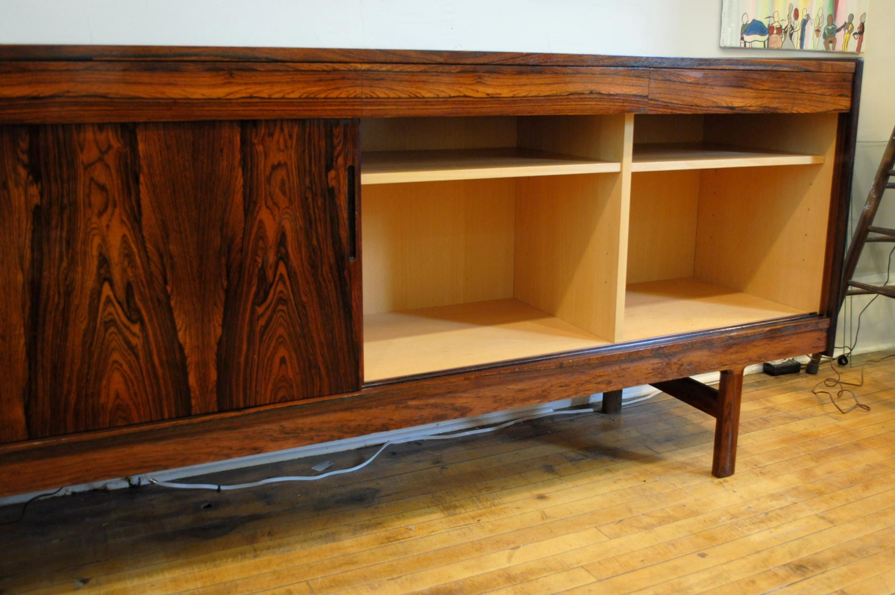 Stunning Rosewood Credenza By Westnofa Of Norway Circa
