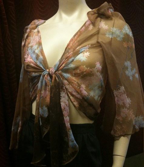 HOM 70s floral jacket
